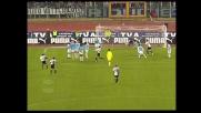 La punizione di Foglio colpisce la traversa contro la Lazio