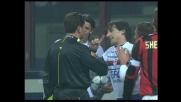 Volpi travolge Inzaghi in area e regala un rigore al Milan