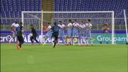 Hernanes batte Marchetti con un sinistro letale da punizione