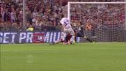 Mario Gomez non supera Perin da pochi passi con un tiro mancino