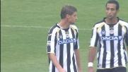 Intervento in ritardo di Coda su Pinilla: doppio giallo e Udinese in dieci
