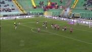 Silvestre con un colpo di testa prepotente porta in vantaggio il Palermo