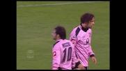 Amauri trattenuto in area, la Lazio concede il rigore al Palermo