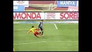 Valdes ci prova contro l'Udinese. La traversa gli dice di no