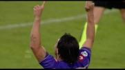 Vargas a segno direttamente su calcio di punizione al Friuli