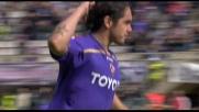 Vargas segna il goal con un sinistro imprendibile per Handanovic dai 30 metri