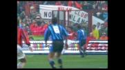 Van Basten ad un soffio dal goal nel derby contro l'Inter