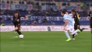 Goal in pallonetto di Zarate che sblocca la sfida tra Lazio e Bologna