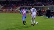 Vecino porta in vantaggio il Cagliari a Catania