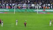 Vidal fa goal al Milan dal dischetto con un tiro preciso