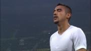 Vidal si prende il cartellino rosso per un brutto fallo da dietro