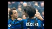 Vieri apre le marcature con il Venezia con un goal dalla distanza