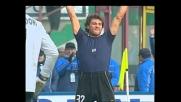 Vieri è da solo contro due, ma di forza e di astuzia segna con Piacenza