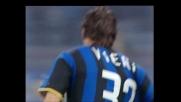 Vieri implacabile di testa, in goal contro l'Udinese