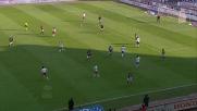 Viviano respinge il destro di Ibrahimovic in Bologna-Milan
