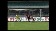 Il goal di Lucarelli porta in vantaggio il Livorno contro il Chievo