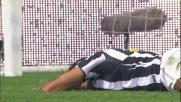 Julio Cesar para anche i tentativi di Quagliarella in Inter-Juventus