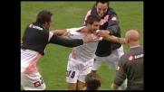 Brienza realizza un goal di testa contro il Genoa