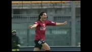 Grandoni porta in vantaggio il Livorno sull'Atalanta con un goal su calcio d'angolo