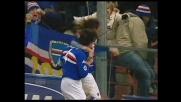 Volpi bravo e fortunato, la Sampdoria segna il goal dell'1-1 con l'Ascoli
