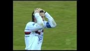 Volpi sfiora il goal su punizione a San Siro: palo