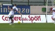 Kucka provoca un rigore per il Cagliari atterrando Cossu in area
