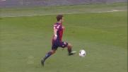 Il centrocampista del Genoa Sturaro realizza il goal con prepotenza a Marassi