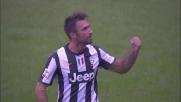 Vucinic realizza il secondo goal della Juventus su rigore al Marassi