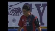 Esposito sottoporta si sbrana un goal calciando alto contro la Roma