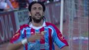 Goal di Spolli per il pareggio del Catania contro il Milan