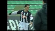 Di Natale segna un goal di testa e l'Udinese vince contro il Siena