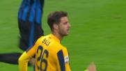 Traversa clamorosa di Sala  contro l'Inter, Verona vicino al goal a San Siro