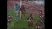 Tocco di mano di Pancaro in Lazio-Reggina, goal da annullare