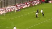 Ibrahimovic segna il goal del vantaggio del Milan a Cagliari