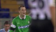 Kelava è costretto al fallo da rigore all'Olimpico contro la Lazio