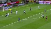 Handanovic respinge il tiro di Candreva al Meazza