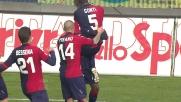 Schema del Cagliari e Ibarbo fa goal al Milan