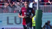 Borriello imita Capuano: goal del 3-5 in Cagliari-Fiorentina