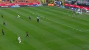Juan Jesus anticipa Ibarbo in tackle prima dell'ingresso in area dell'Inter