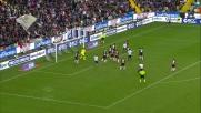 Widmer colpisce la traversa di testa e l'Udinese sfiora il goal con il Genoa