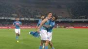 Hamsik di precisione sblocca il risultato in Napoli-Milan
