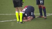 Colpo doloroso in barriera per Conti contro il Milan