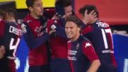 Cop regala la vittoria al Cagliari contro il Sassuolo