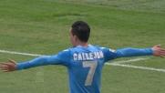 Il tiro potente di Callejon sblocca il match Udinese-Napoli