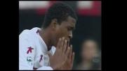 Do Prado cerca il goal dalla distanza contro il Milan