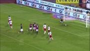 Diamanti realizza un goal su rigore contro il Milan