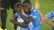 Zapata firma il goal della doppietta personale contro l'Hellas Verona