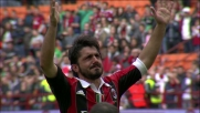 San Siro saluta i senatori rossoneri: l'addio di Gattuso, Inzaghi e Nesta