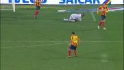 Di Michele sfiora il goal al Milan, deviazione e palo in Lecce-Milan