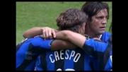 Crespo non perdona la Lazio: secondo goal di giornata e 2-2 momentaneo